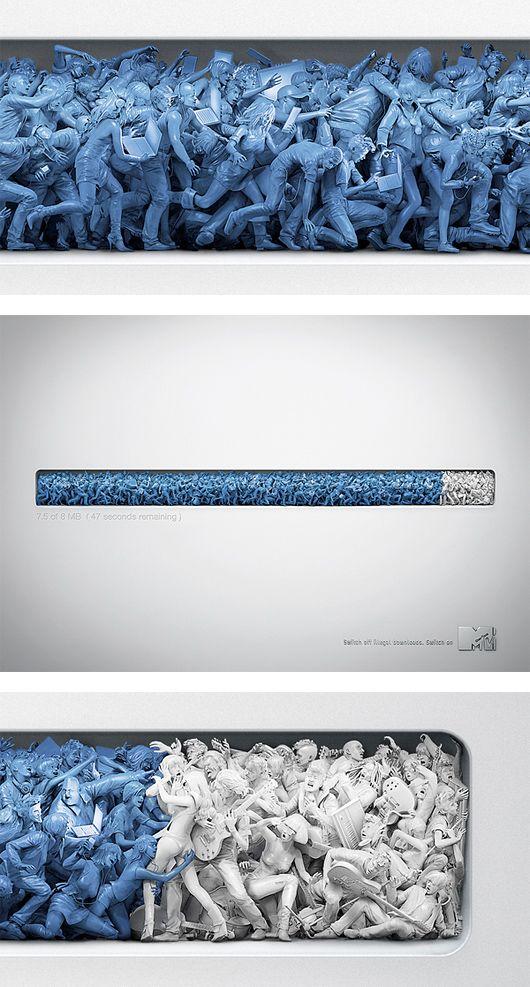 Creative Advertising by Patrick Ackmann | Inspiration Grid | Design Inspiration