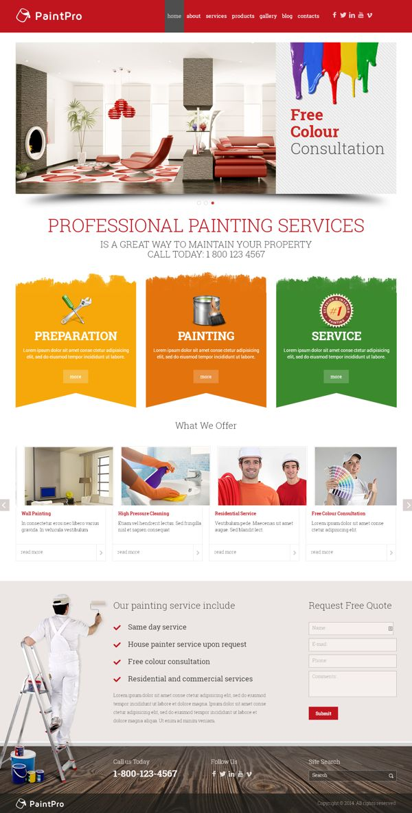 139 best images about Bootstrap Templates on Pinterest | Behance ...