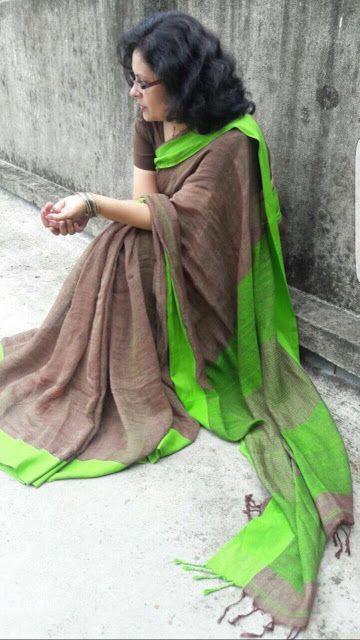 Exclusive Lenin Sarees | Buy Online Sarees | Elegant Fashion Wear