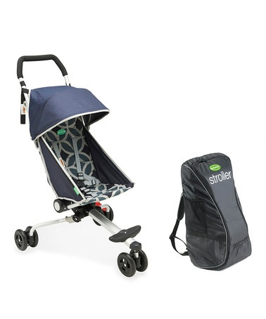 Take a look at this Geometric Midnight Stroller & Backpack by QuickSmart on #zulily today!