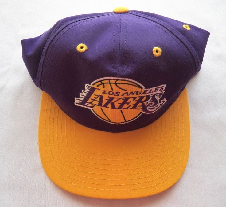 $8.50 L A Lakers Cap Official NBA Product (4316-2399MS) collectibles, baseball caps #TwinsEnterprisesInc #LosAngelesLakers
