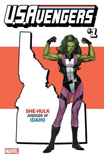 USAvengers 1 She Hulk Avenger of  IDAHO