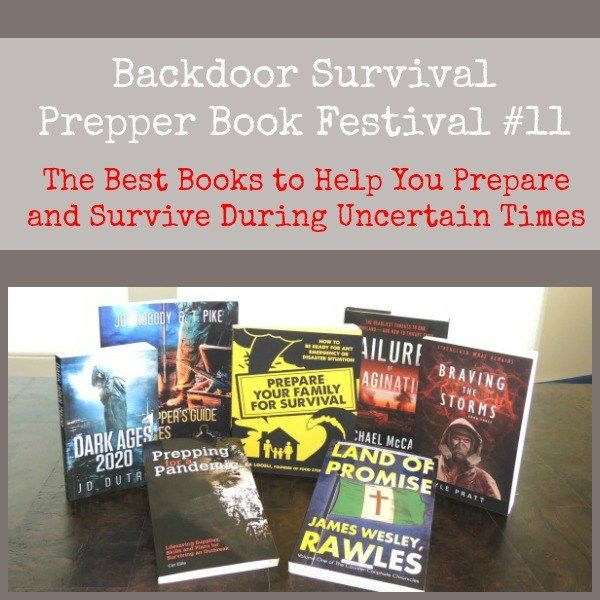 The newest Prepper Book Festival includes both fiction and non-fiction in an eclectic selection of books you can learn from.  Prepper Book Festival 11 | Backdoor Survival