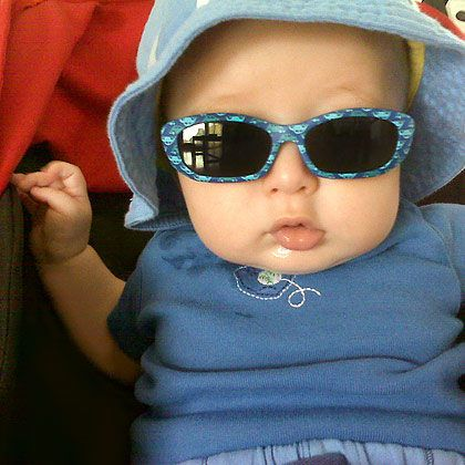 Sunglasses | Baby Beach Gear | Baby Beach Tips | Summer Activities | BabyZone