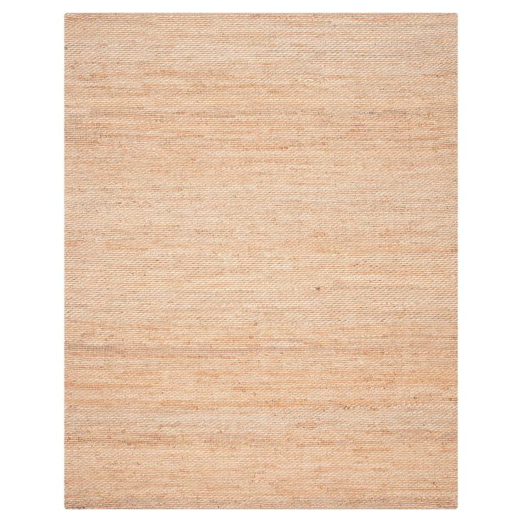 Hallie Natural Fiber Area Rug - Natural (8' X 10') - Safavieh, White