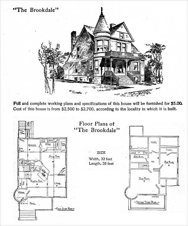 44 best Antique, Historical \ Early Twentieth Century Home Plans - new house blueprint esl