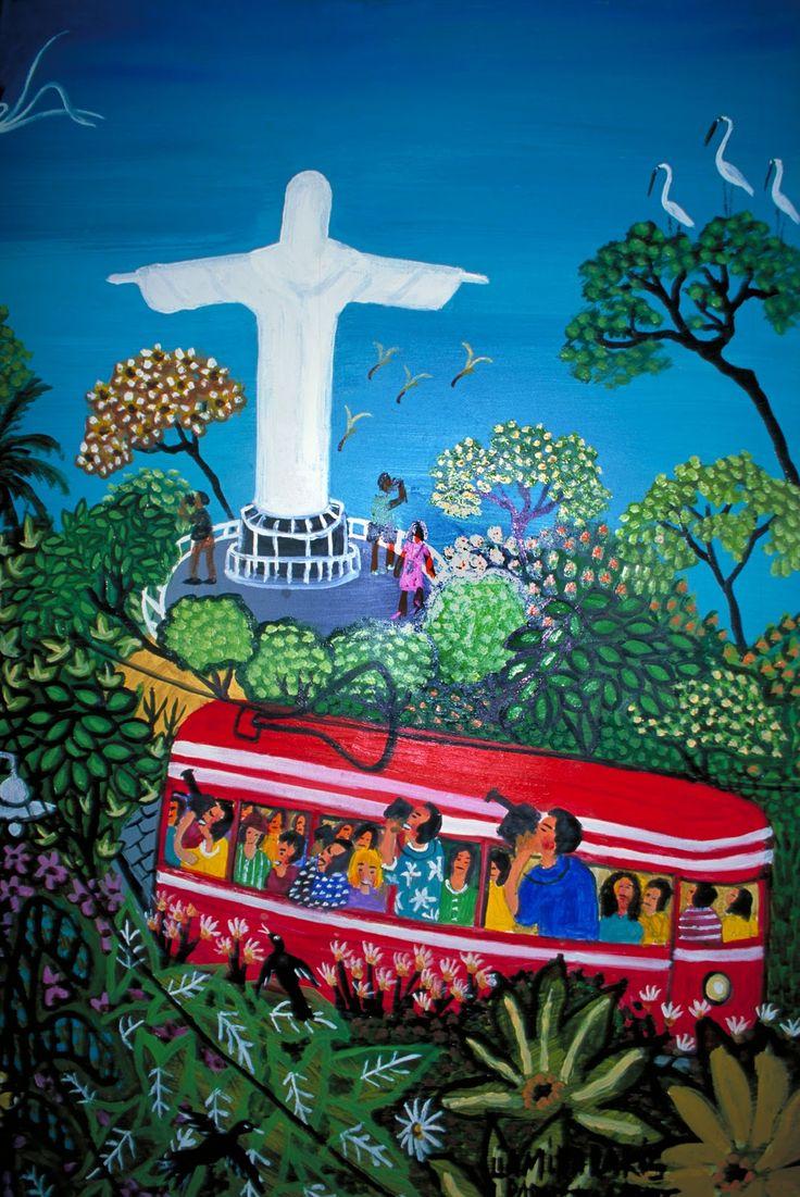 arte naif infantil. brasil