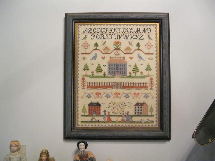 Sampler by Jo-Ann Whitcomb: Cross Stitch, Jo Ann Whitcomb, Sampler