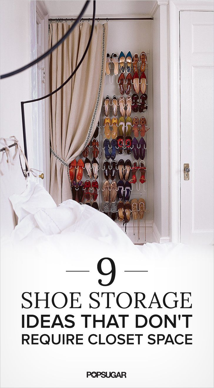 9 Shoe Storage Ideas That Donu0027t Require Closet Space