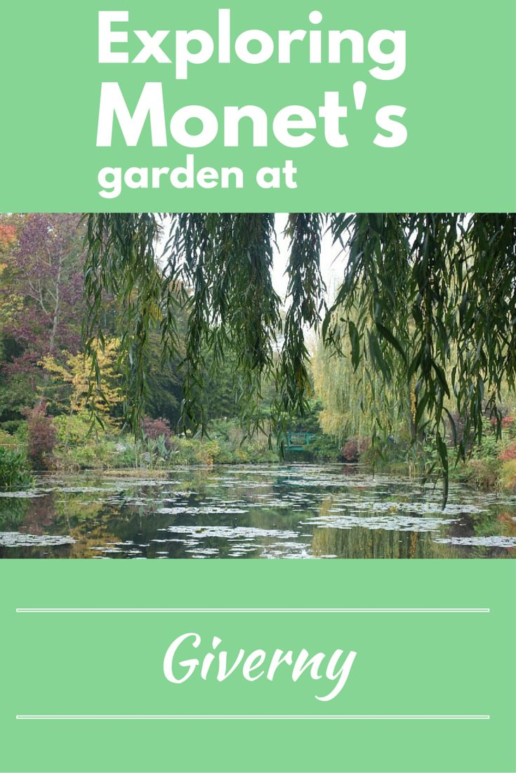 Regardless of the time of year, Monet's garden in Giverny makes a perfect day trip from Paris