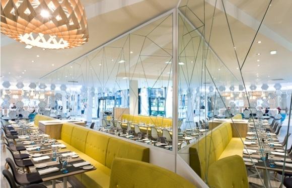 modern, interior design, cafe, restaurant