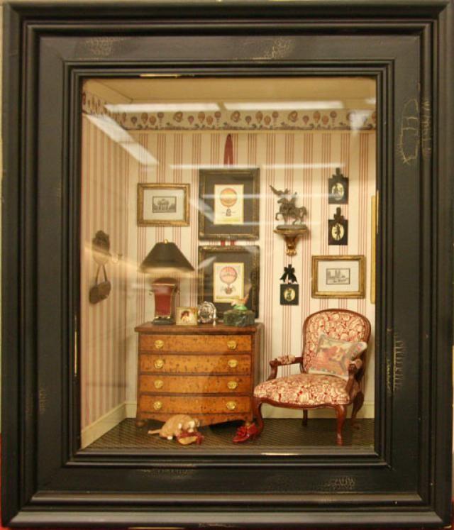 17 best images about miniature room boxes on pinterest. Black Bedroom Furniture Sets. Home Design Ideas