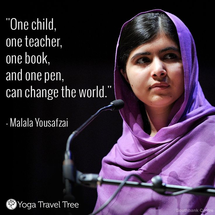 Thoughts on malala
