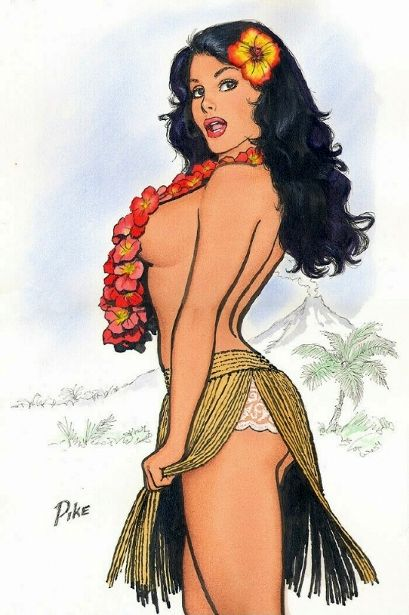 Jay Scott Pike - Hula Girl
