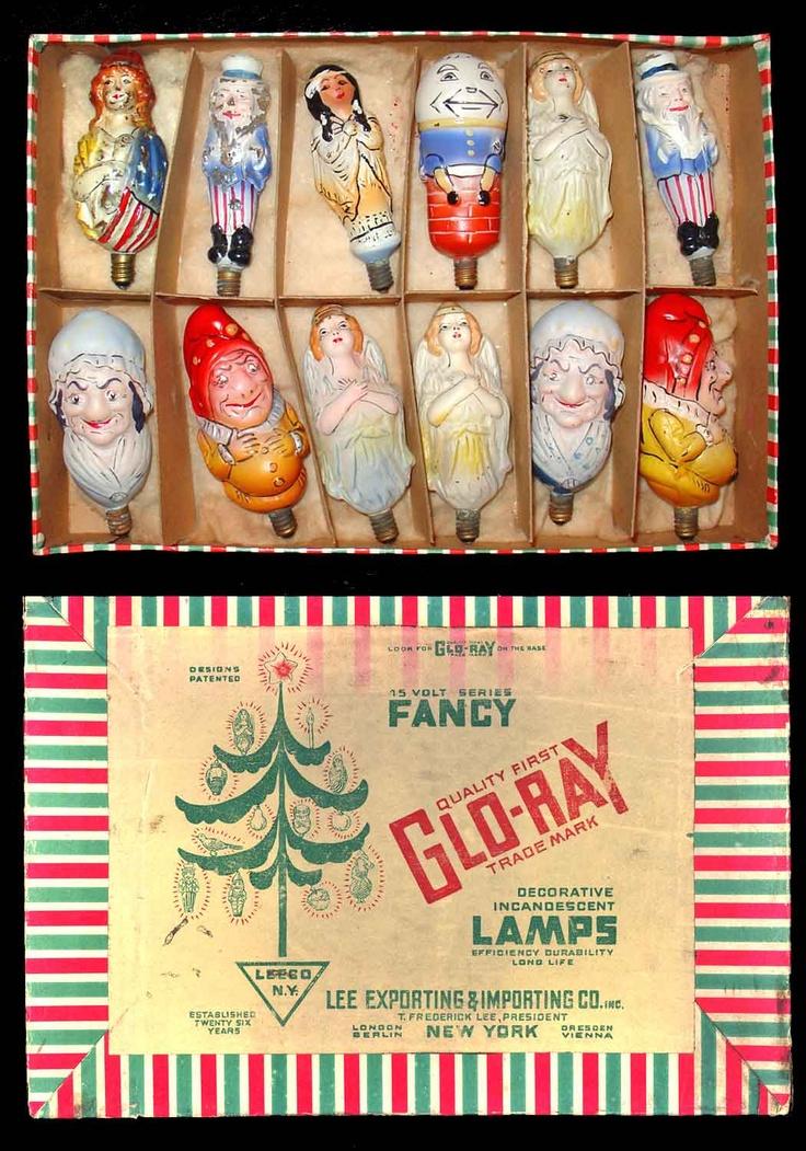 christmas lights - Antique Christmas Lights