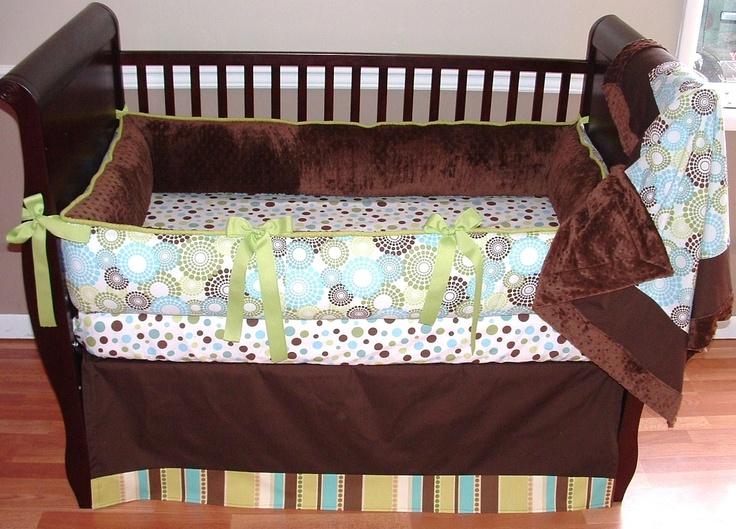 Baby Boy Bedding Sets Round Cribs, Merry Go Round Baby Bedding