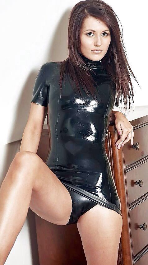 With you Latex hot nud with