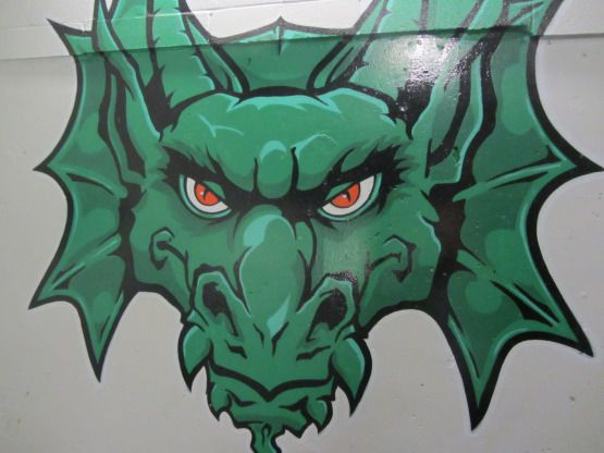 paint mural at the Bosh