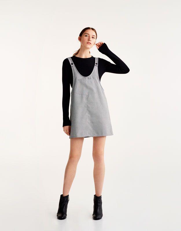 Pichi bolsillo delantero - Vestidos - Ropa - Mujer - PULL&BEAR España