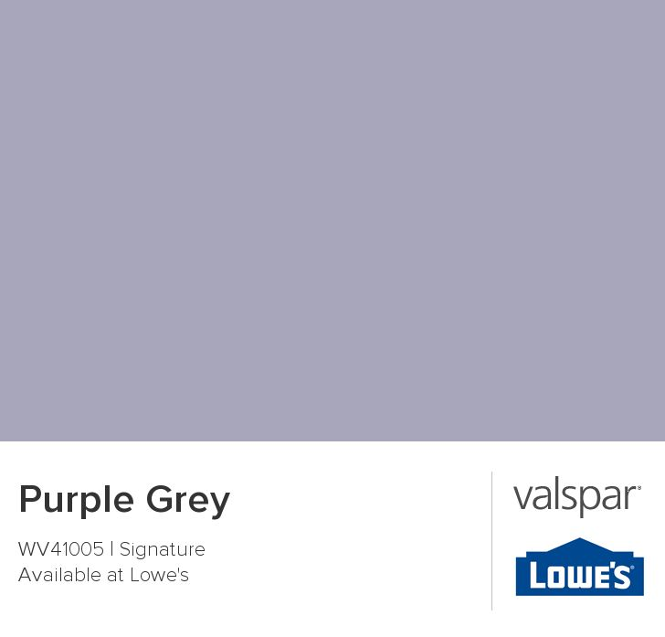 Purple Grey from Valspar kids bedroom floor