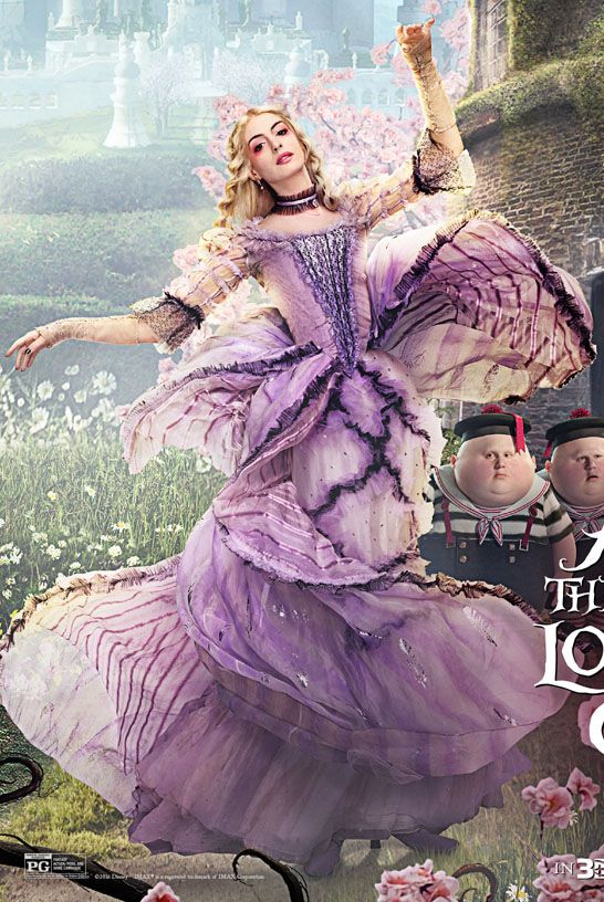 The White Queen, Alice Through the Looking Glass