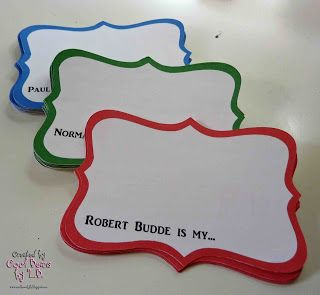 Cool Beans by L.B.: Family Reunion Name Tags                                                                                                                                                      More