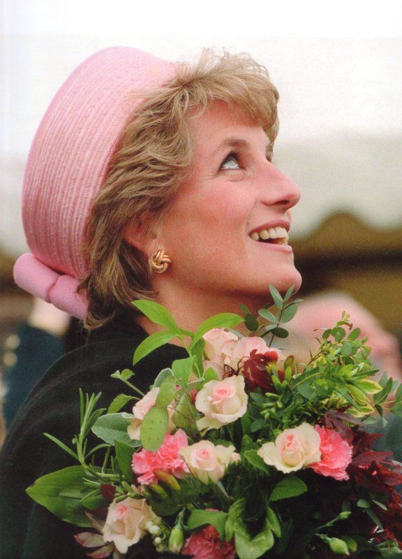 Princess Diana, May 20, 1995 Philip Sommerville