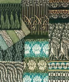 iris bishop autumn winter 1990 fair isle knitting machine patterns