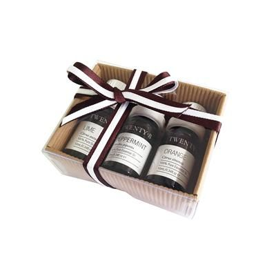 Culinary Chocolate Trio - Beautiful Lime, Peppermint and Orange make up this special three oil pack. These high quality oils are incredibly potent so only a few drops are required for each batch. If you can imagine making Lime & Coconut Chocolate, Peppermint Chocolate and Orange & Almond Chocolate as examples then this is the pack for you! All of these oils can be used in baking and other desserts as well.