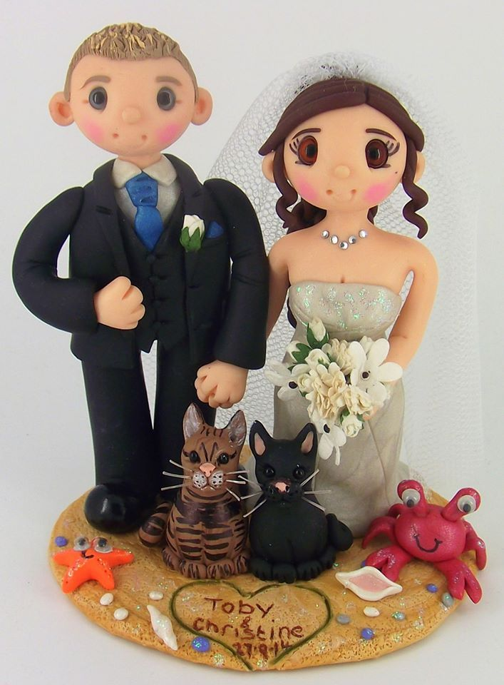 personalised clay wedding cake toppers uk 194 best wedding cake toppers images on cake 18210