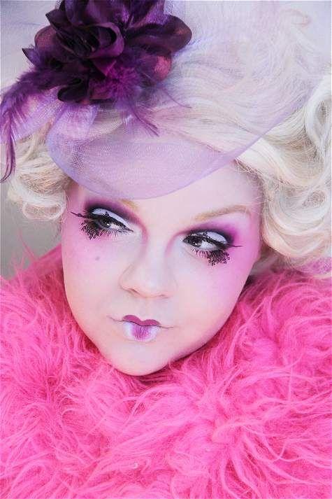Effie Trinket: Fashion, Make Up, Halloween Idea, Effie Trinket, Halloween Costumes, Costume Ideas, Makeup, Hunger Games, Hair