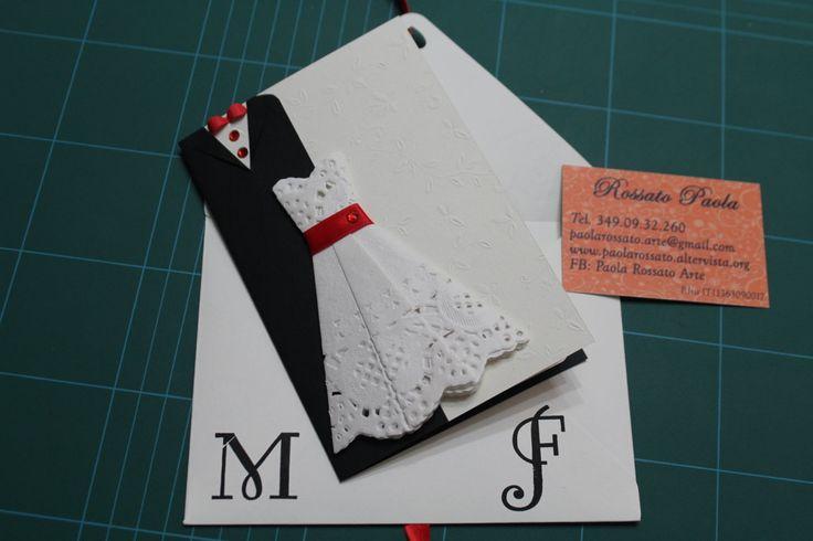 Due card di matrimonio: una per due neo sposini ed una per un 60° anniversario di nozze. Un'idea regalo carina per fare le nostre congratulazioni.