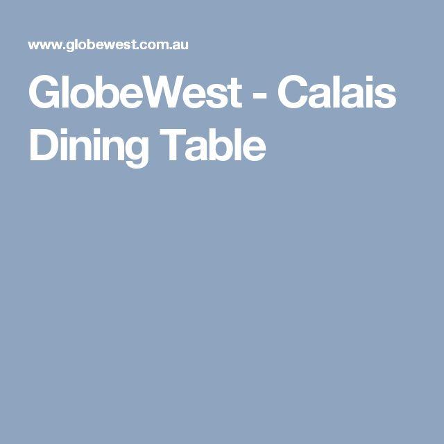 GlobeWest - Calais Dining Table
