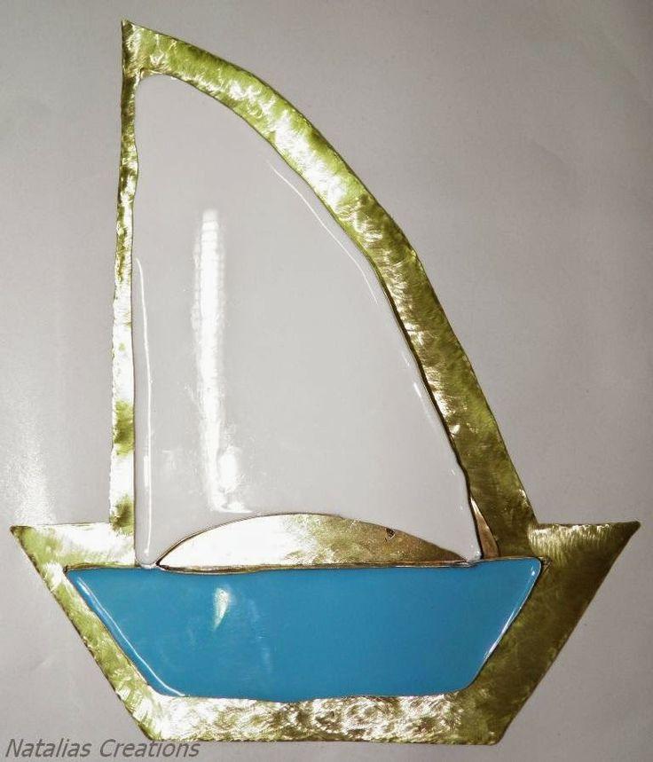 Ναταλία - Χειροποίητες Κατασκευές: Μεταλλικό καράβι από μπρούντζο