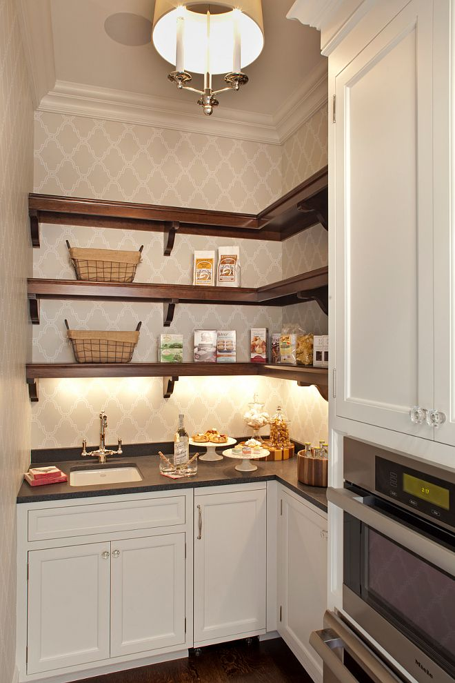 324 best butler39s pantry pantry images on pinterest for Small butler pantry designs