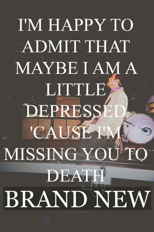 brand new lyrics on Tumblr