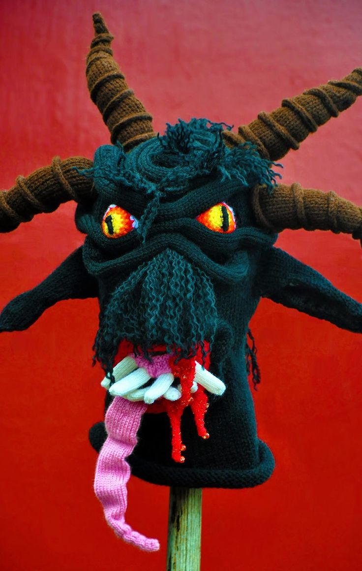 Scare Friends This Winter With Knitted Monster Hats! | The Mary Sue