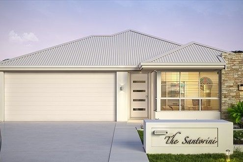 'The Santorini' by Choice by Projex is a modern 4x2 home design. Complete with a home theatre, alfresco and double lock up garage.