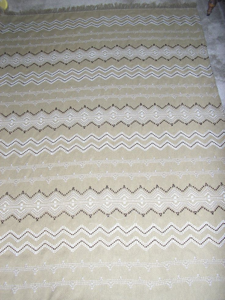 Idaho Potato Swedish Weaving Blanket by NeenersWeaving on Etsy