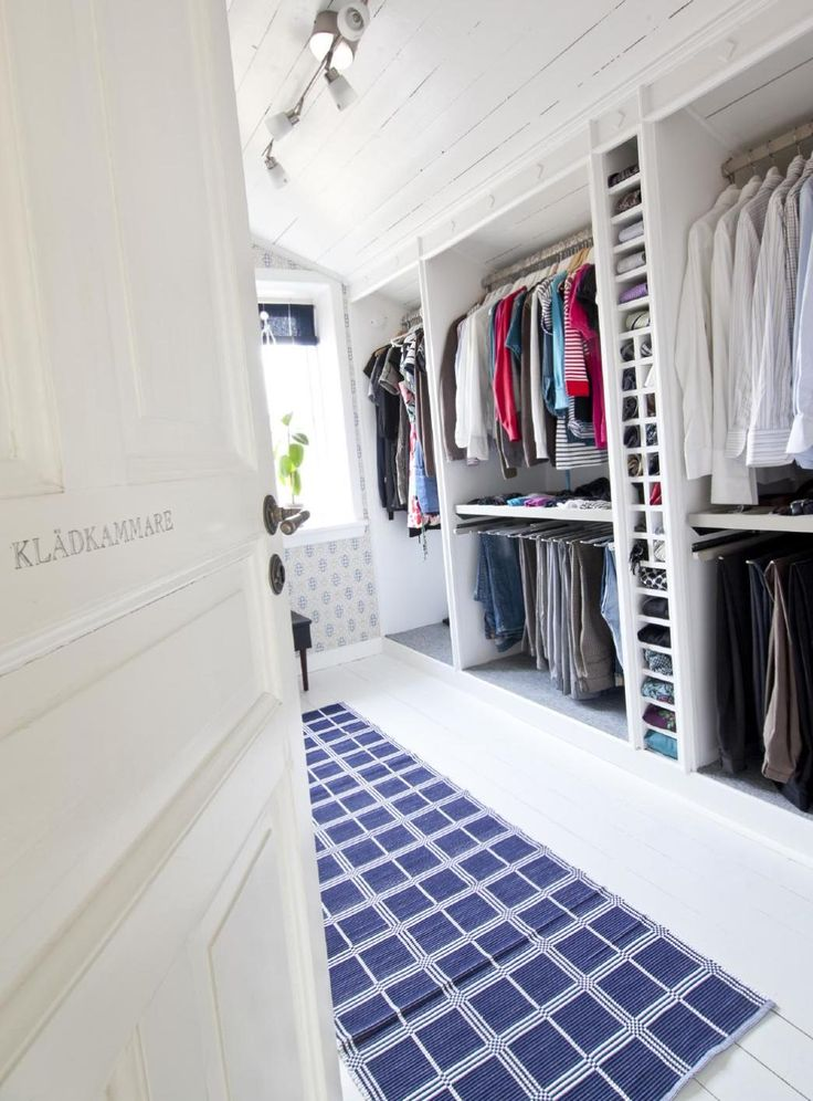 Garderob under snedtak #ClippedOnIssuu from Hildas inspiration