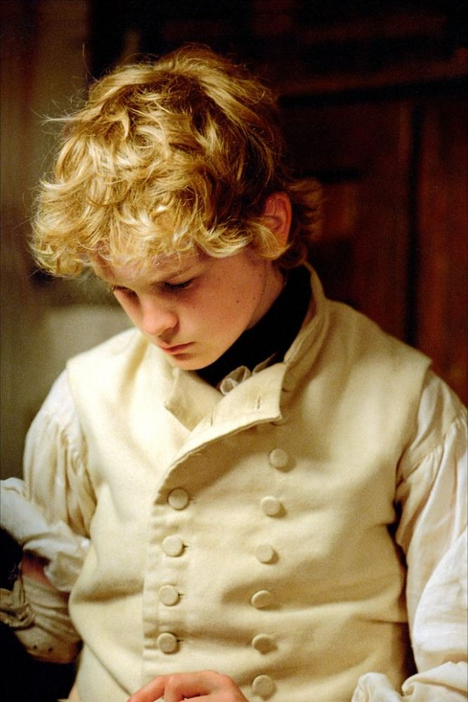 Max Pirkis as Lord Blakeney in Master and Commander: The far side of the World which is pretty much one of the BEST MOVIES EVER