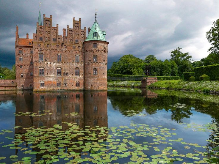 Constructed in 1554, Egeskov Castle is known as the best-preserved moat castle in all of Europe. The Gothic-style castle complex comprises 280-year-old hedge mazes, and two buildings with 200 windows and 66 rooms (sadly, only six bathrooms).