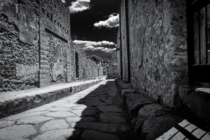 street of Pompeii - null