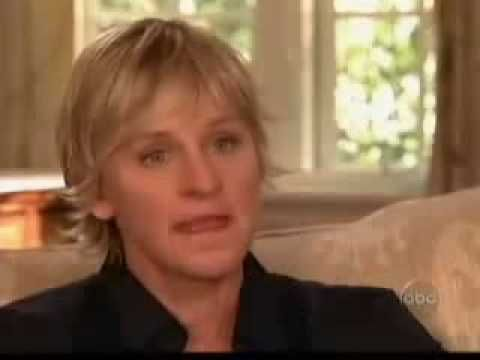 Ellen DeGeneres (Sexual abuse, Phone Call to God, Coming Out) ~ Interview by Barbara Walters