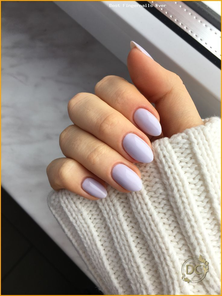 Short Almond Nails 50 Chic Manicure Ideas In 2020 Rounded Acrylic Nails Acrylic Nails Almond Short Short Almond Nails