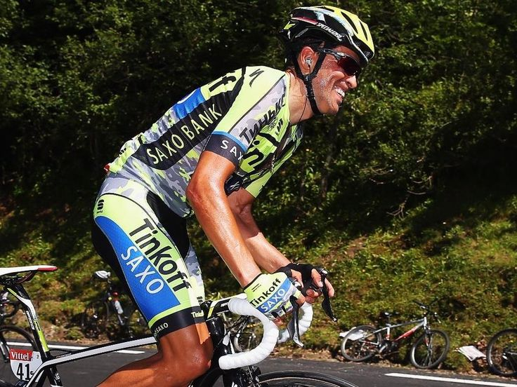 Tour de France stage 10 Contador was the next to crack, eventually dropping 2:51 on the stage