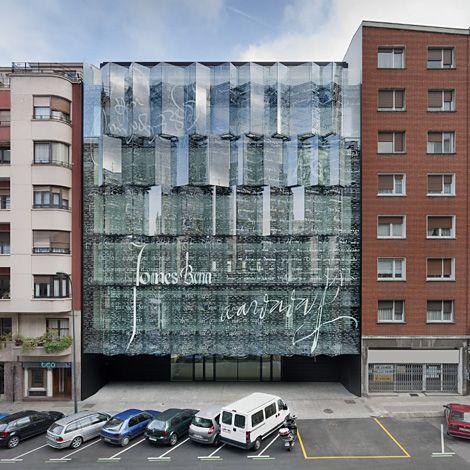 façade verre