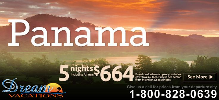 Apple Vacations' Panama Sale - Going on now!