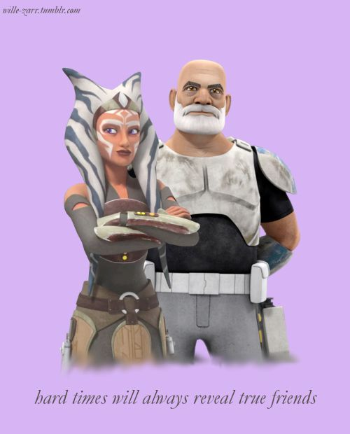 My two favorite characters are now all grown up, off fighting the Empire! I'm so proud.