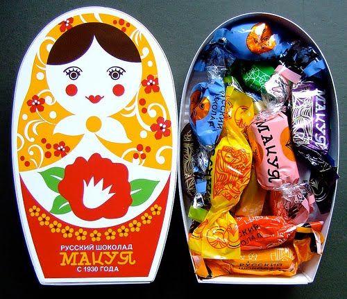 Russian Chocolates Mishka Na Severe